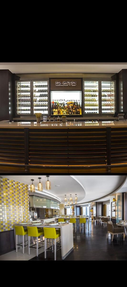 Gusto italian restaurant rotana hotel amman jordan for Gusto italian kitchen